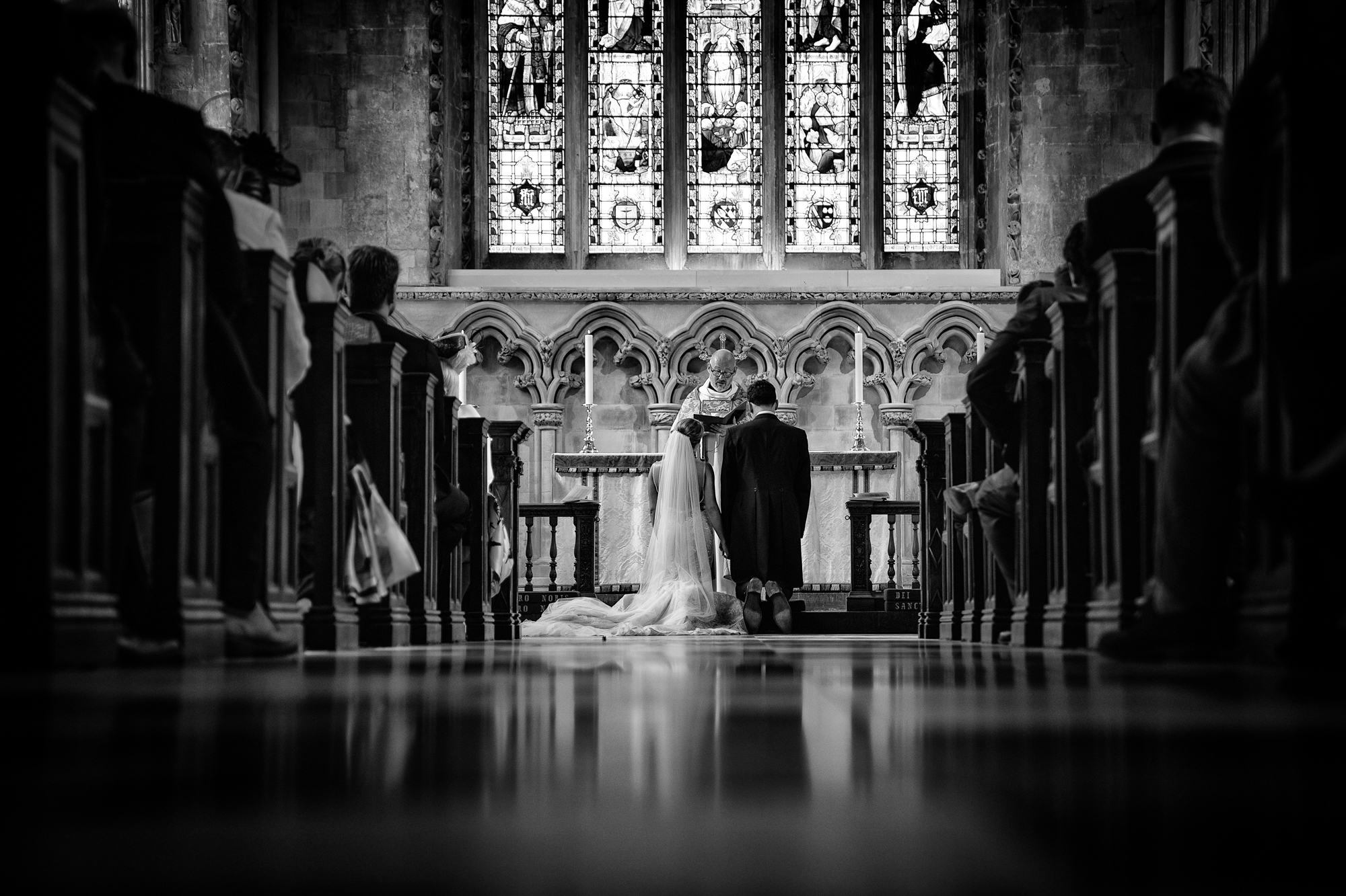 Sony A9 Wedding Ceremony - St Albans Cathedral