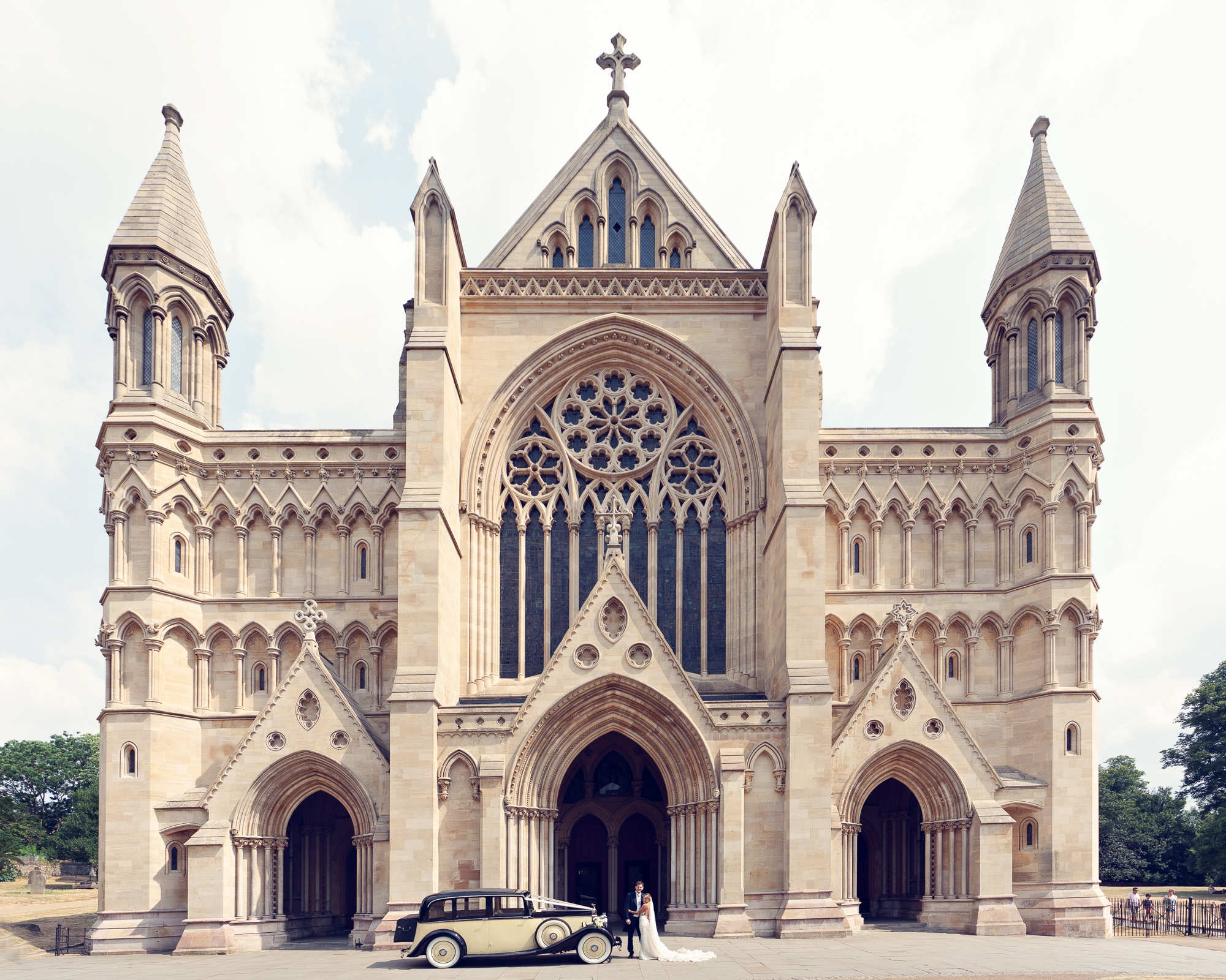 St Albans Cathedral Wedding Photography